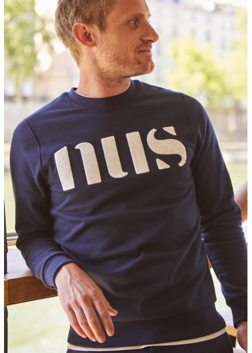 "Le Sweat ""NUS"" rouge"