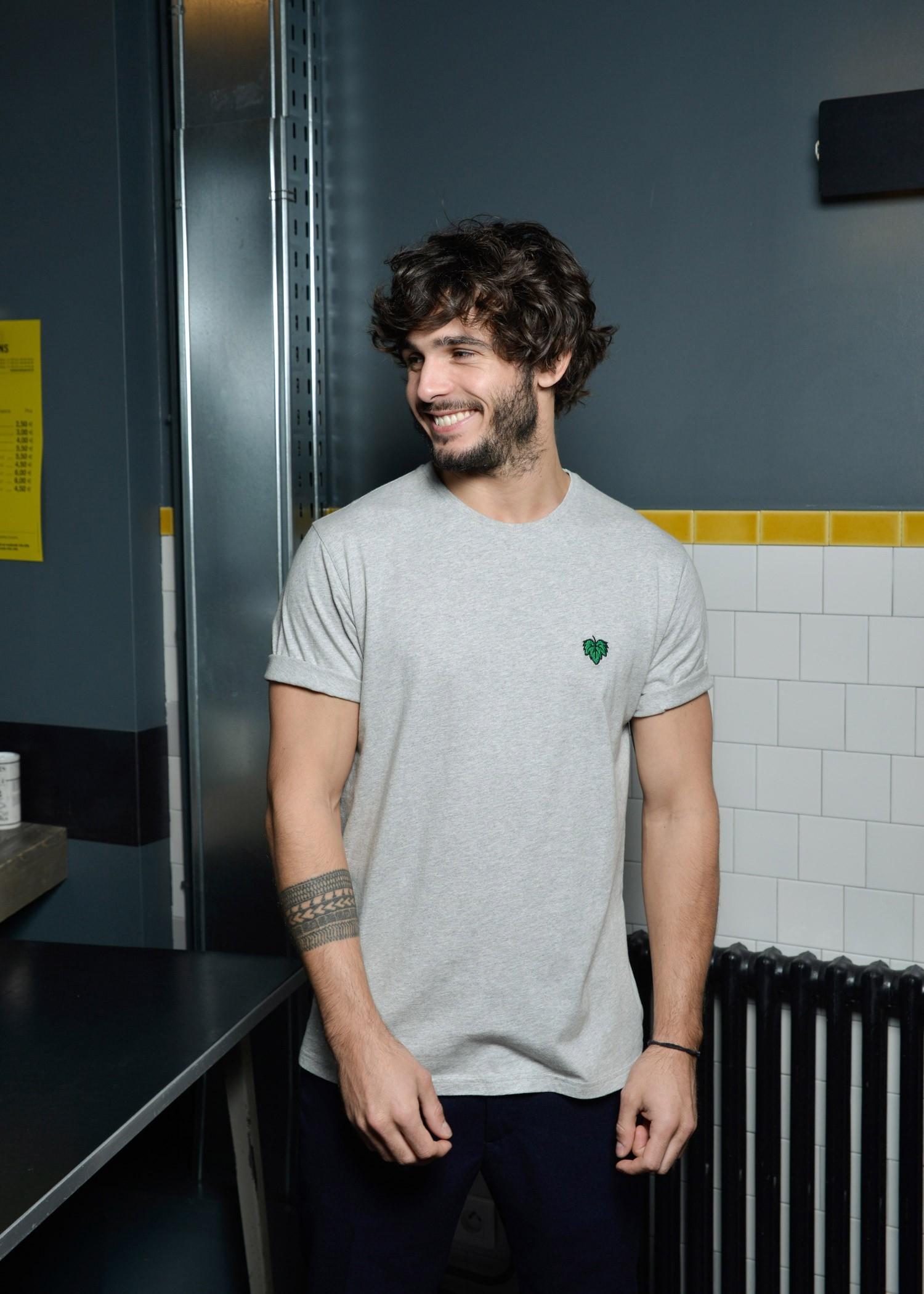 T-shirt Vigne gris