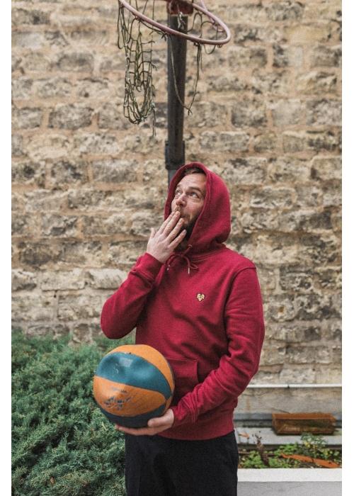 Le Hoodie Bordeaux