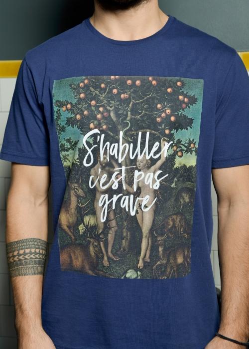 T-shirt Eden Bleu