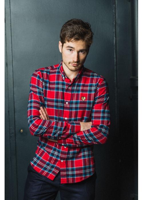 Chemise à Caro rouge