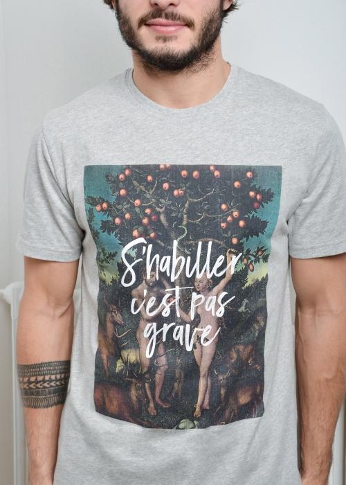 T-shirt Eden Gris