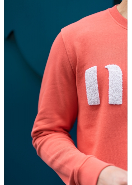 "LE SWEAT ""NUS"" TOMETTE"