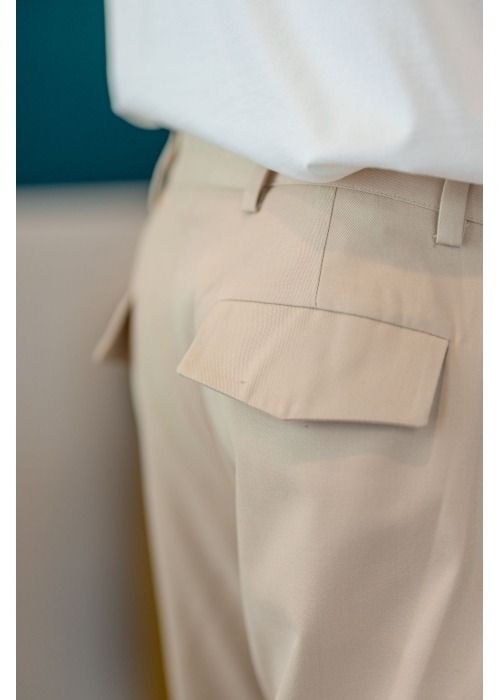 Pantalon Beige 100% coton