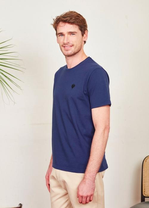 T-shirt Vigne Bleu
