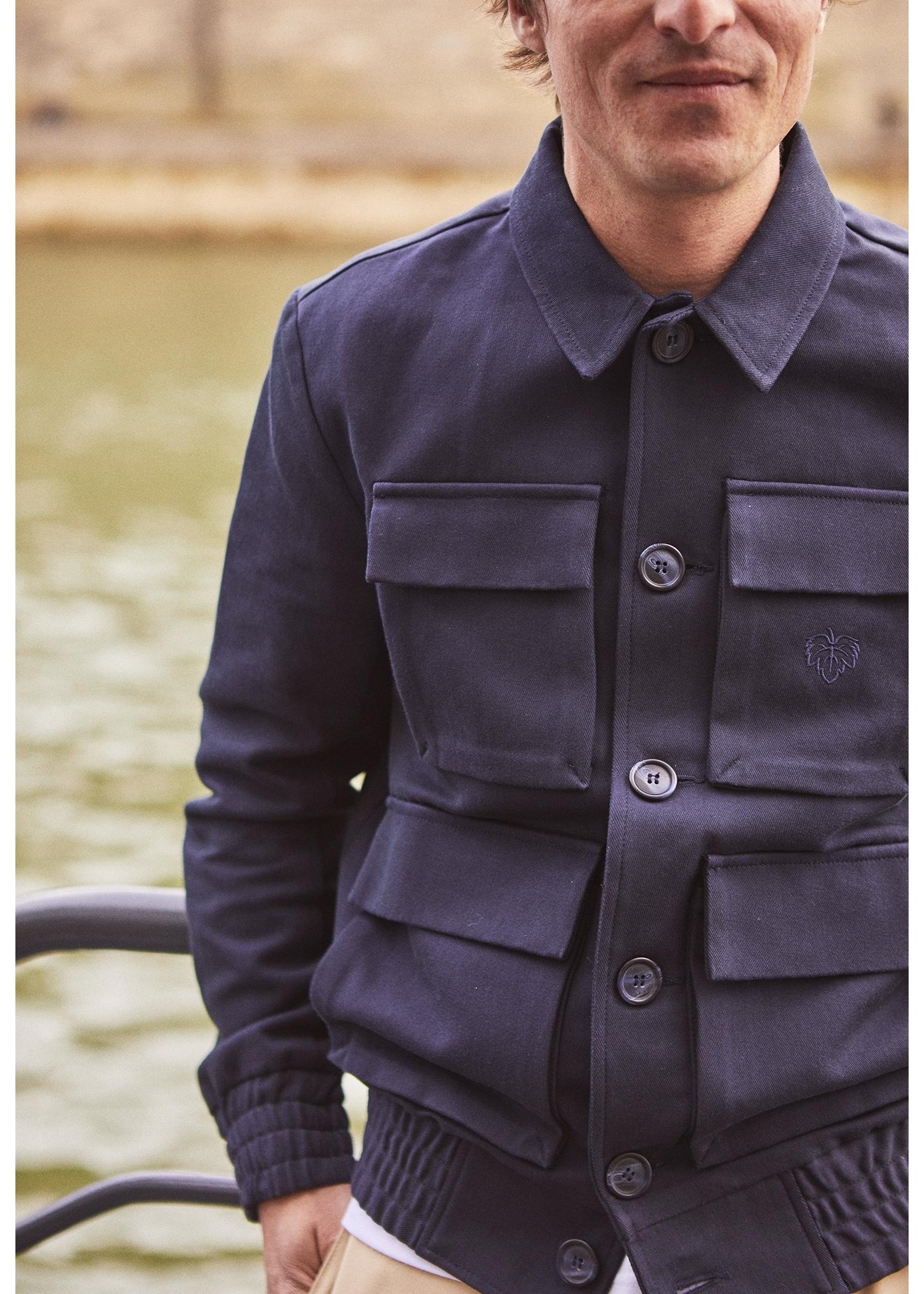 Blouson quatre poches Navy