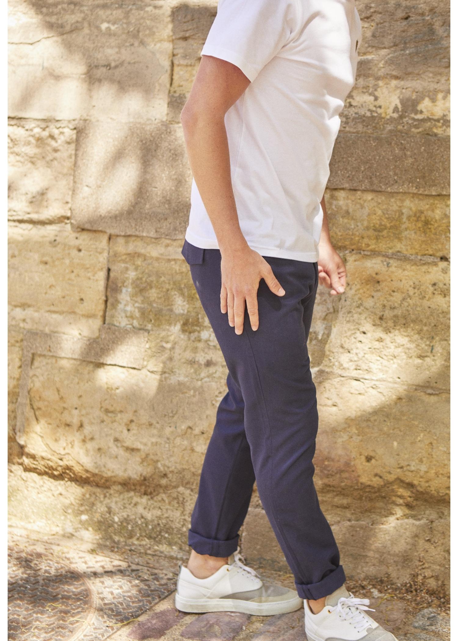 Pantalon Navy 100% coton