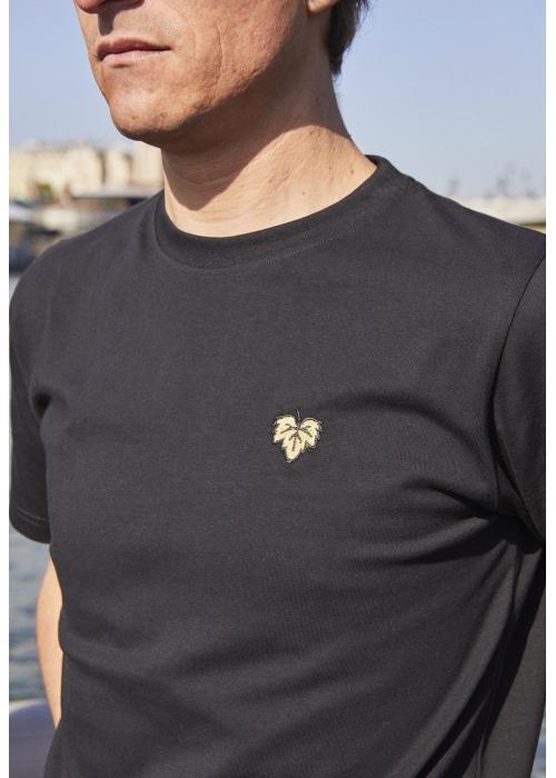 T-shirt Vigne noir