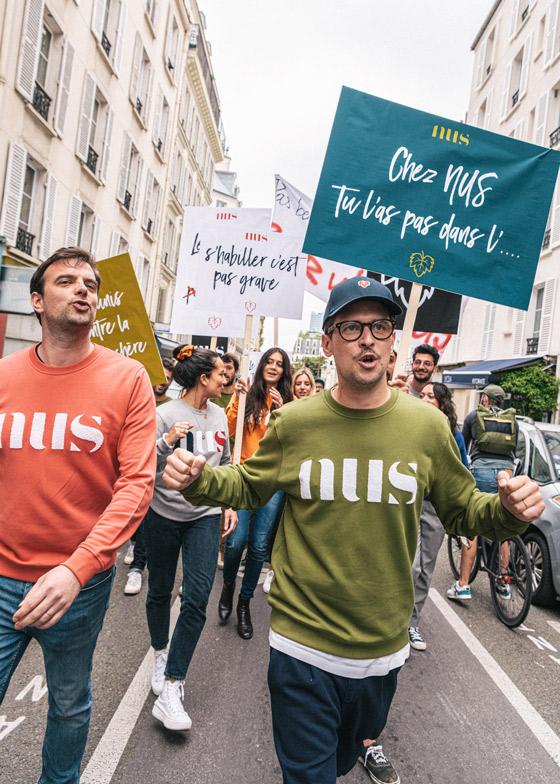 Manifestation NUS